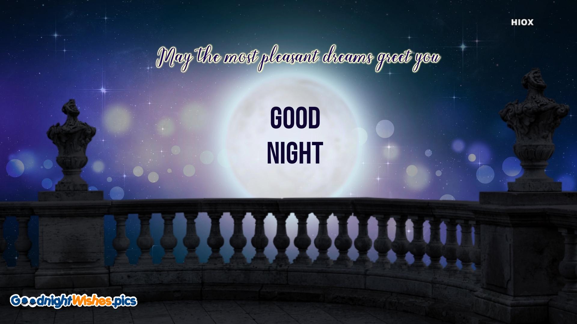 Beautiful Good Night Wishes
