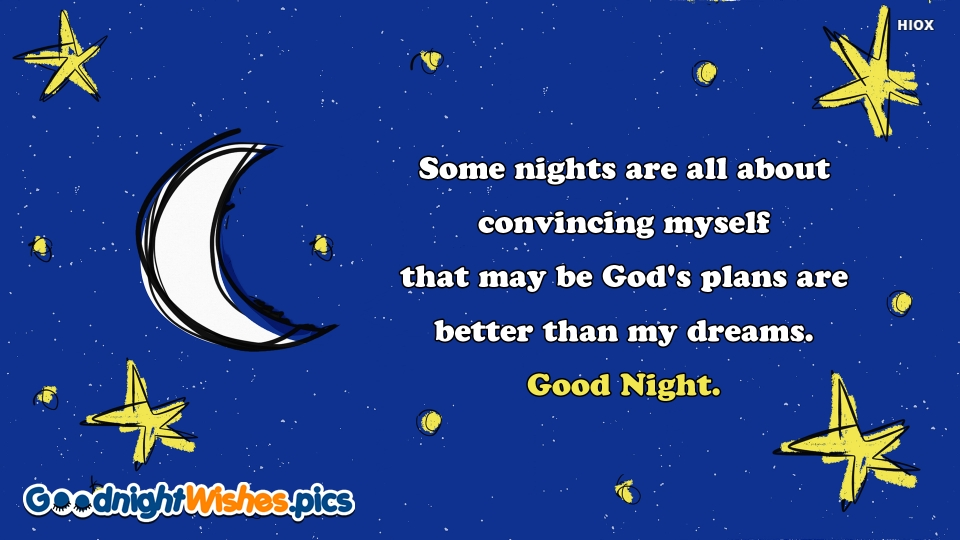 Good Night Wishes for Good Message