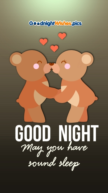 Cute Good Night For Lover