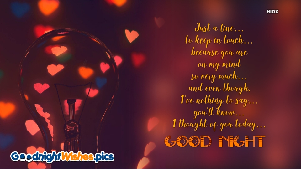 Cute Good Night Message For Her