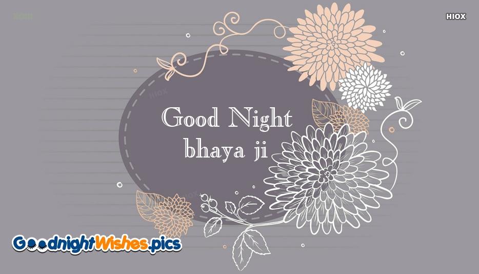 Good Night Bhaiya Images