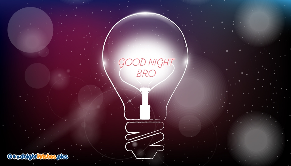 Good Night Brother Messages, Images, Wishes