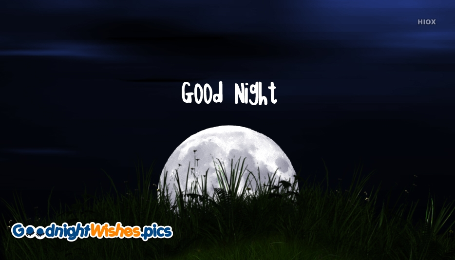 Good Night Wishes for Him