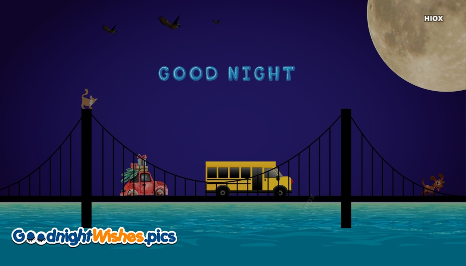 Good Night Cartoon Pic