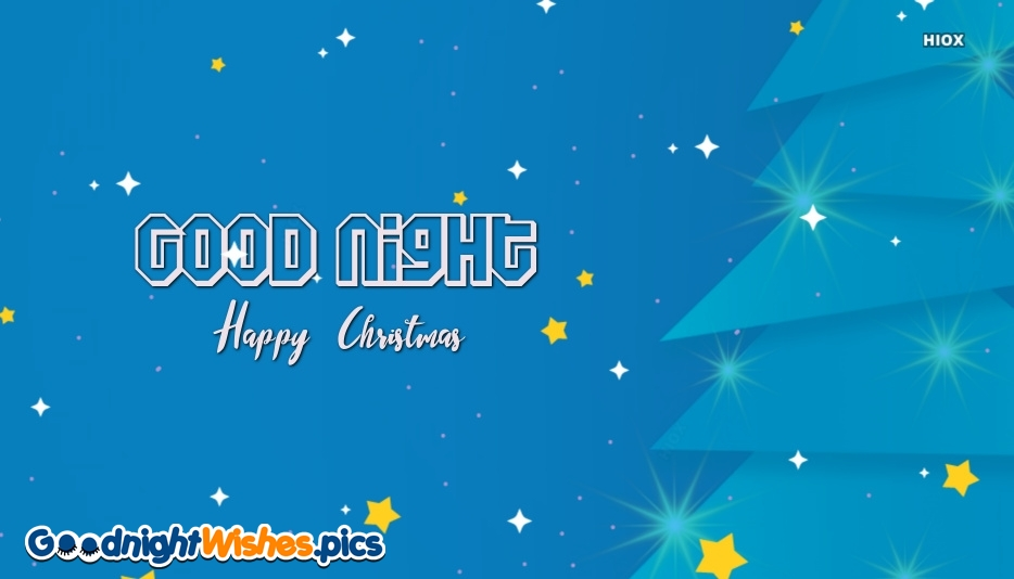 Good Night Merry Christmas Images