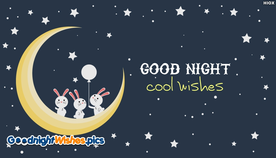 Good Night Cool Wishes