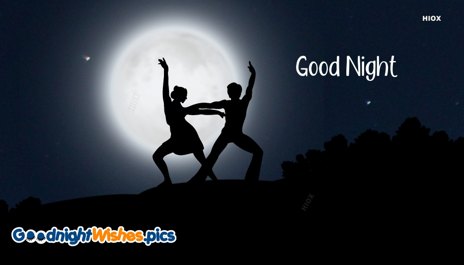 Good Night Silhouette Images