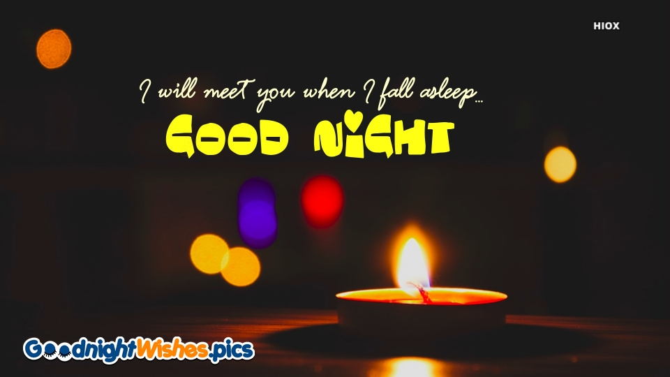 Good Night Wishes for Love Message