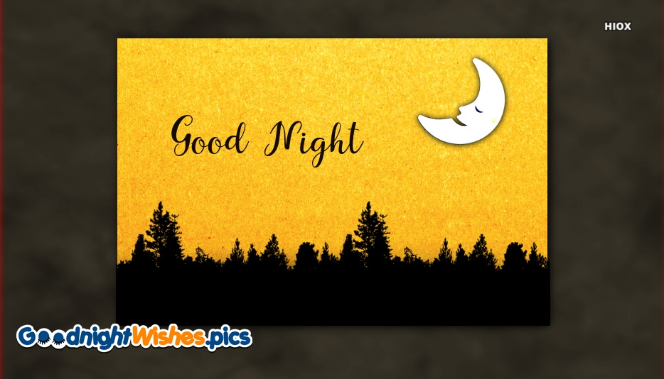 Good Night Greeting Cards Images