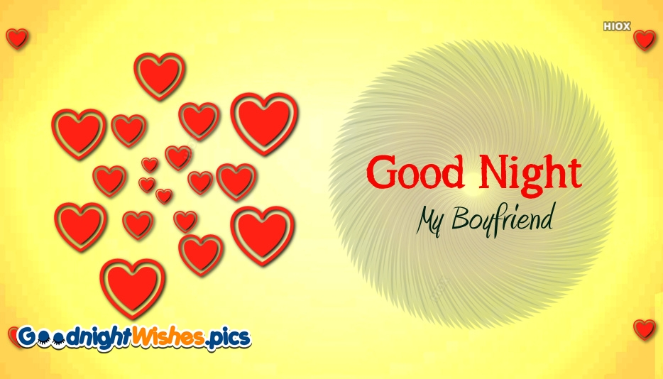 Good Night For My Boyfriend