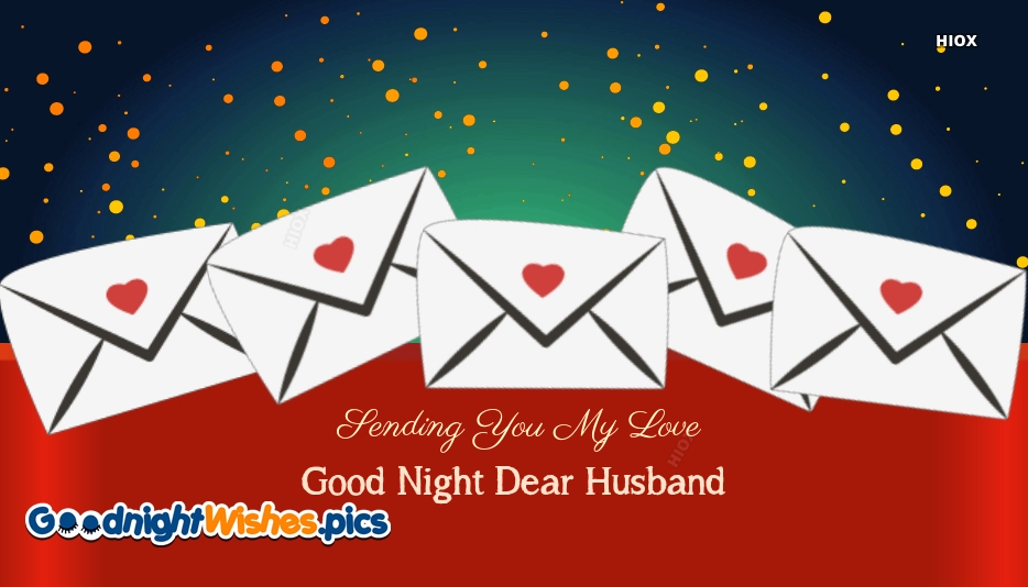 Good Night For My Husband