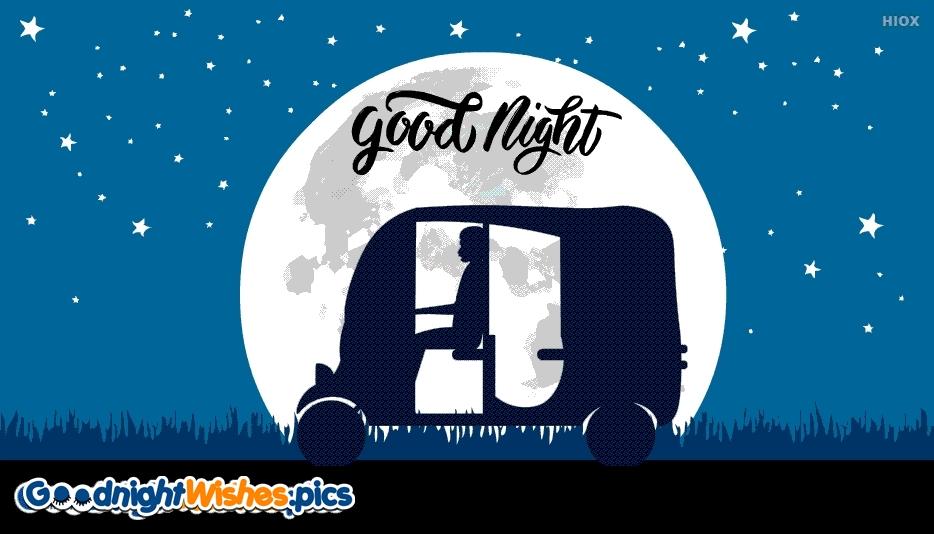 Good Night Gif With Moon