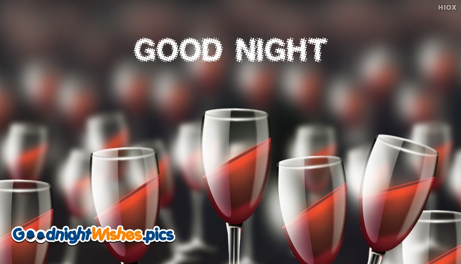 Good Night Glass Images
