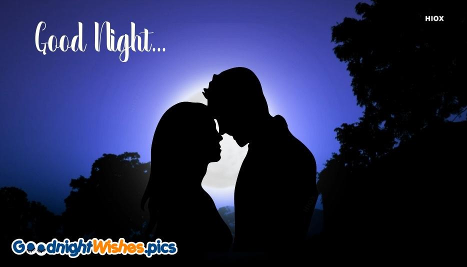 Good Night Greeting Romantic