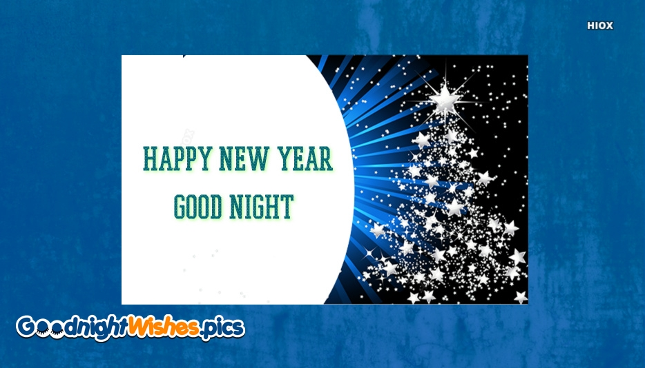Good Night Happy New Year Images