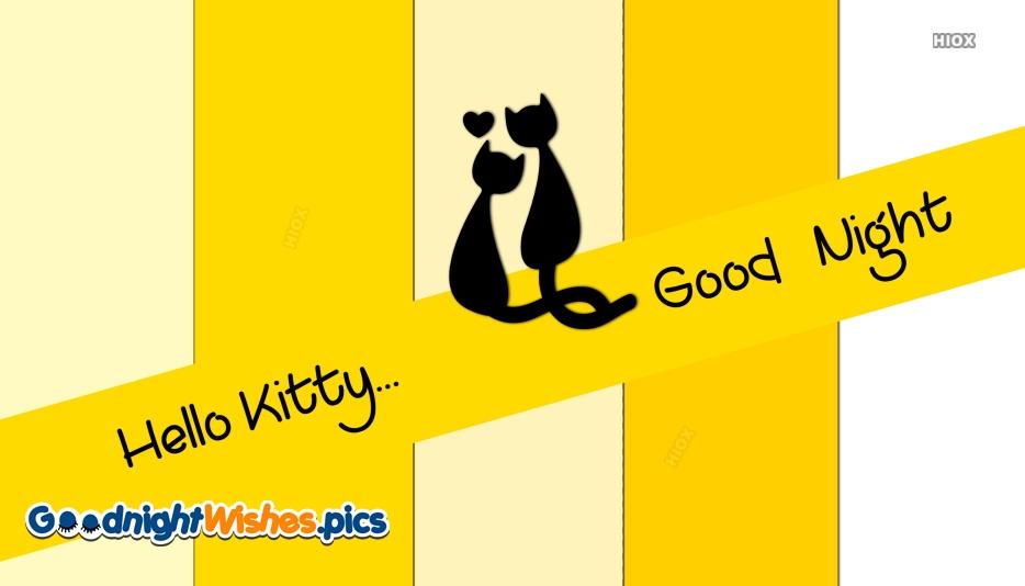Good Night Hello Kitty