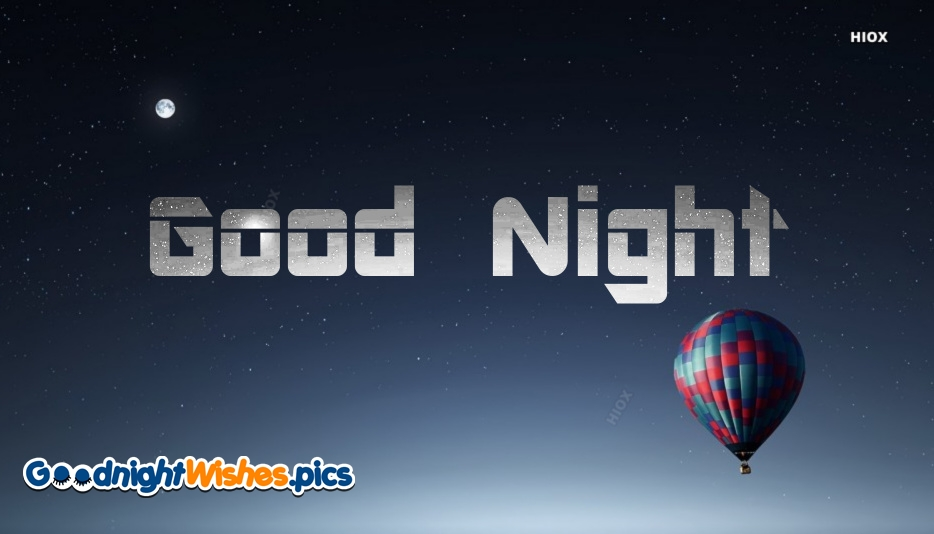 Good Night Wishes for Wallpaper