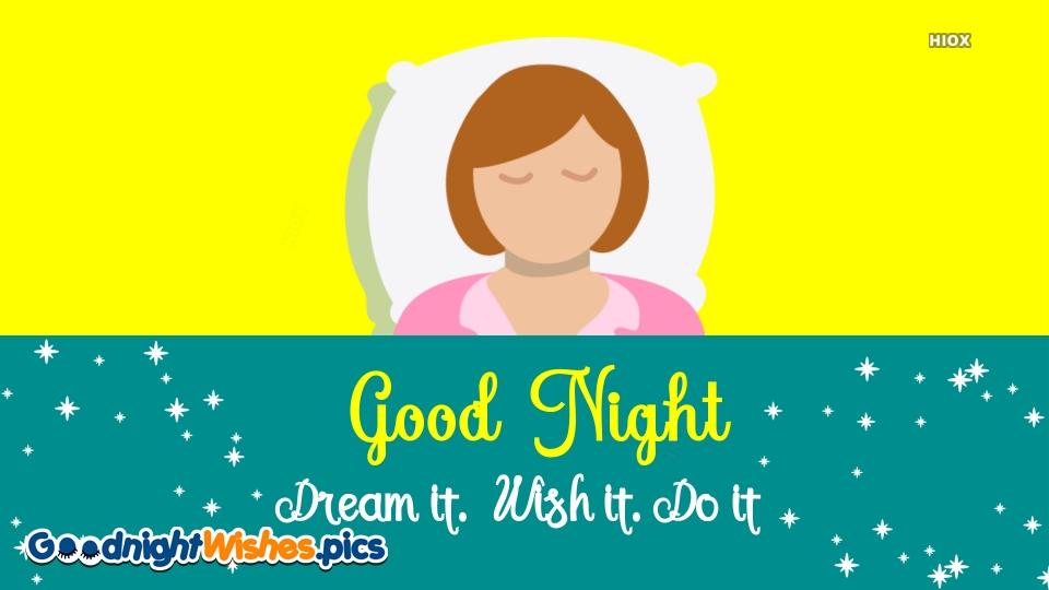 Dream It, Wish It, Do It Image