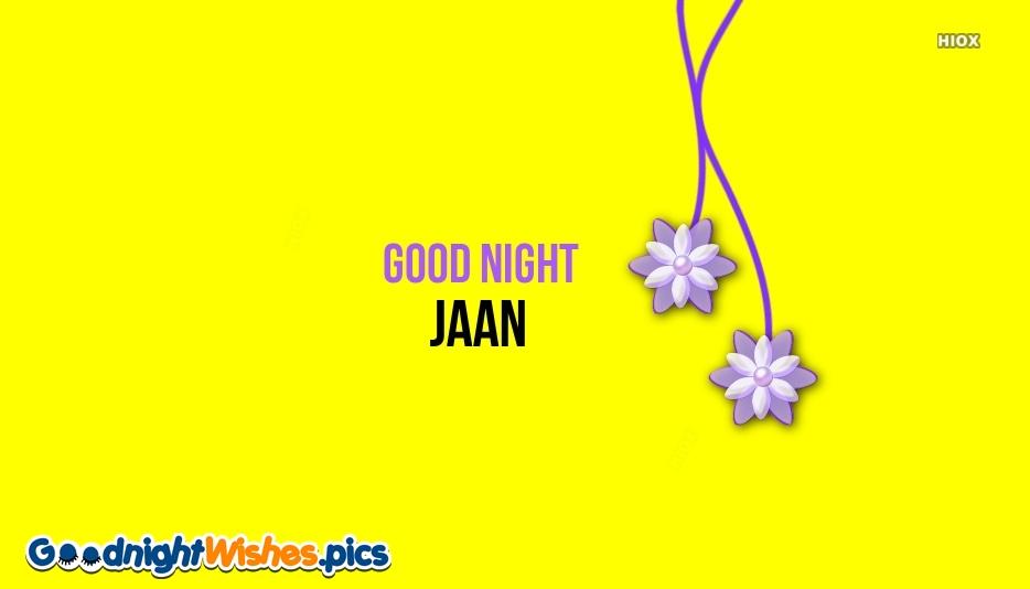 Good Night Jaan