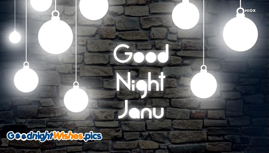 Good Night Janu Images