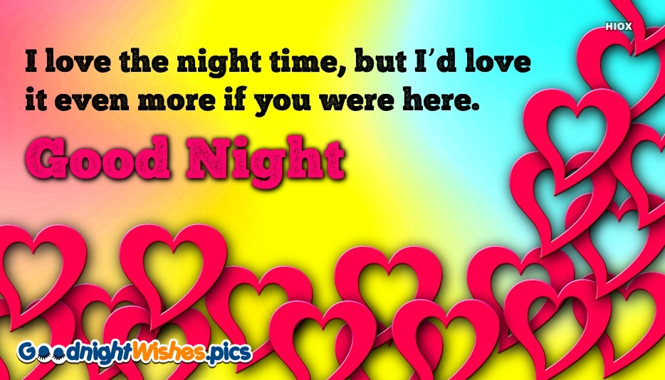Good Night Love Feelings Message For Soulmate