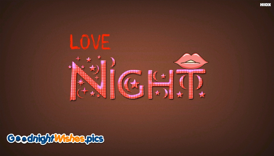 Good Night Love Kiss Wallpaper - Good Night Wishes With Kiss