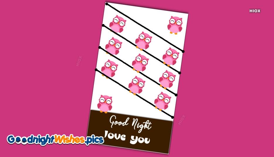 Good Night Love You Pic