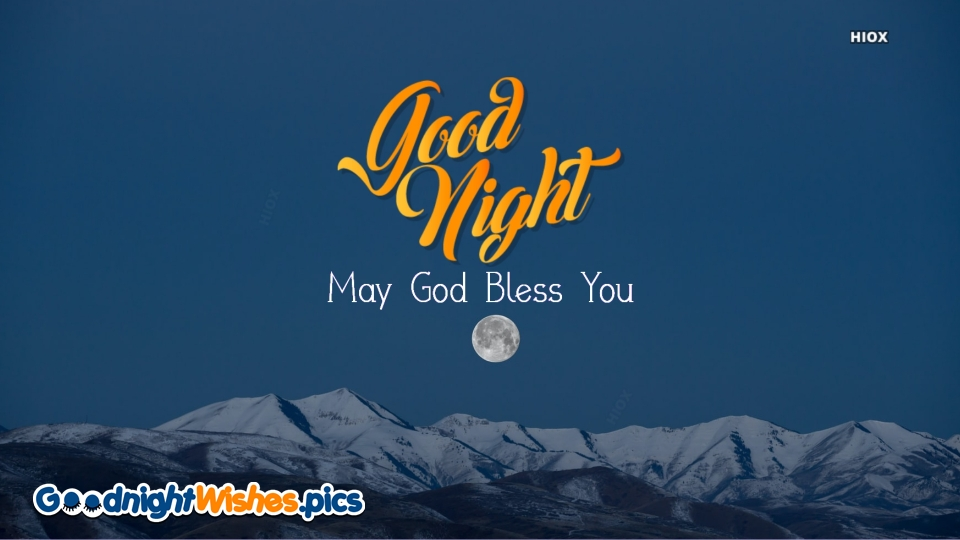 Good Night May God Bless You