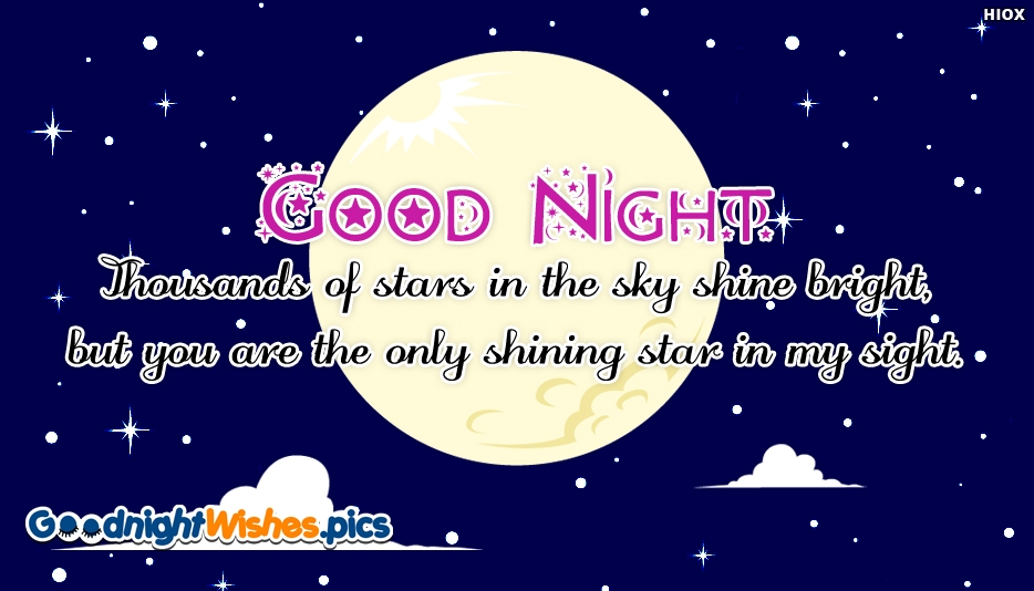 Good Night Message To My New Love - Good Night Wishes for New Love