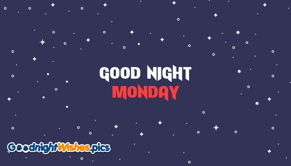 Good Night Monday