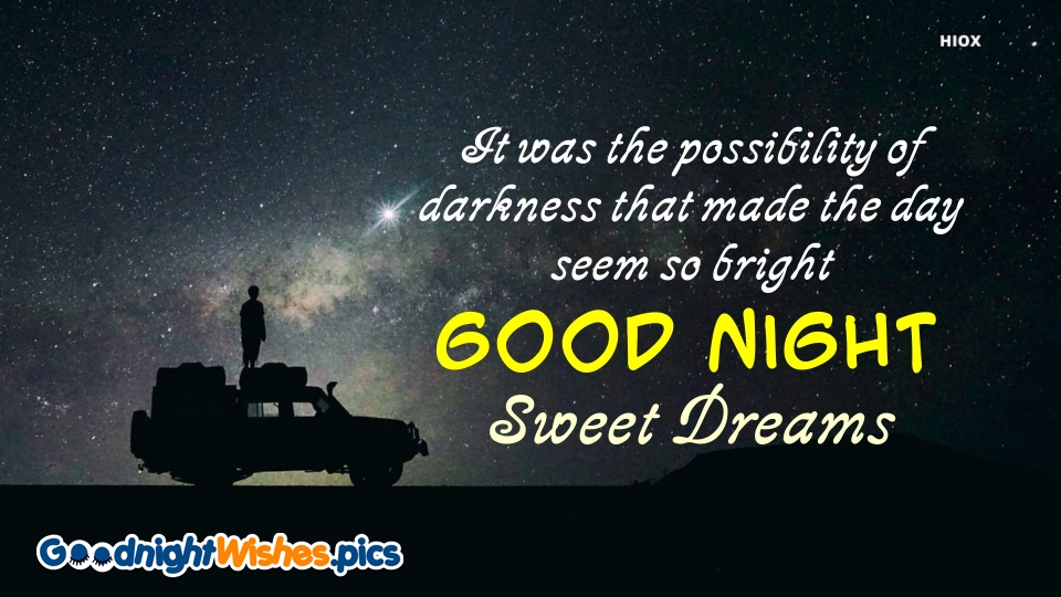 Good Night Wishes for Motivational Quotes