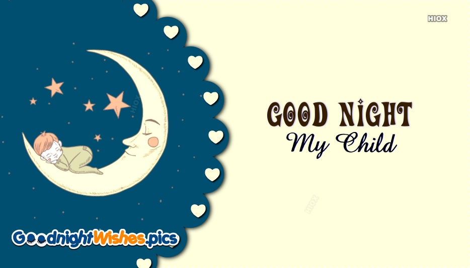 Good Night Wishes for Child