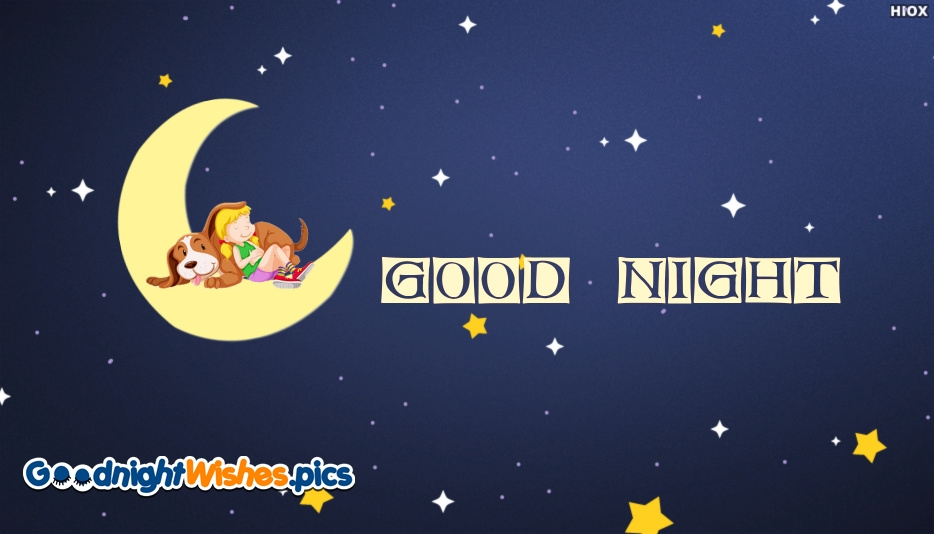 Good Night Little Girl Image