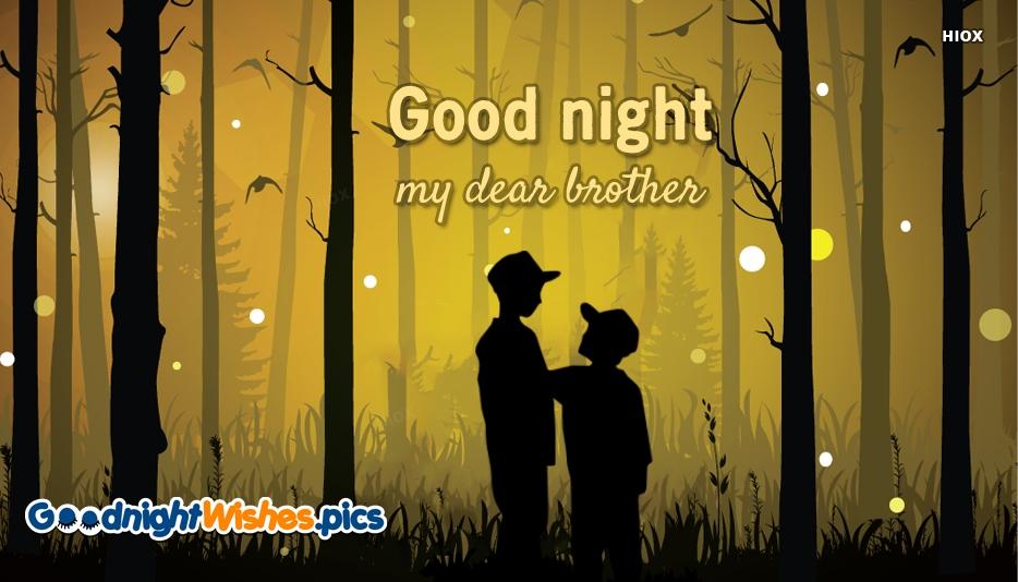 Good Night My Dear Brother