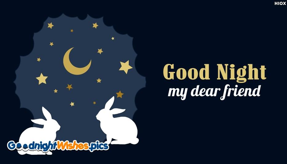 Good Night My Dear Friend