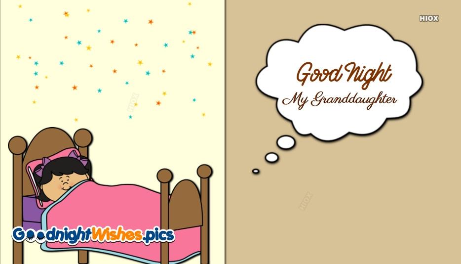 Good Night My Granddaughter