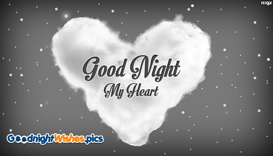 Love Heart Good Night Wallpaper : Good Night Heart Images, Pictures