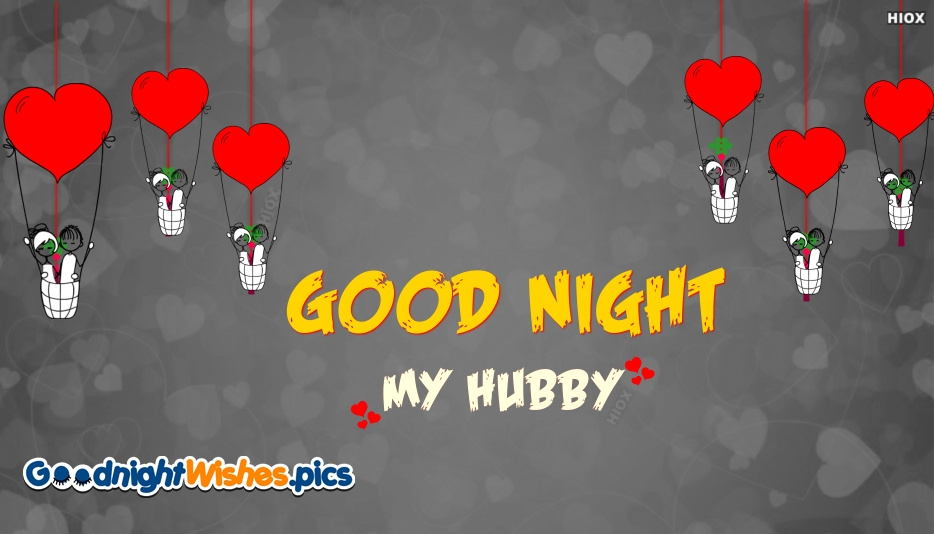 Good Night My Hubby Images