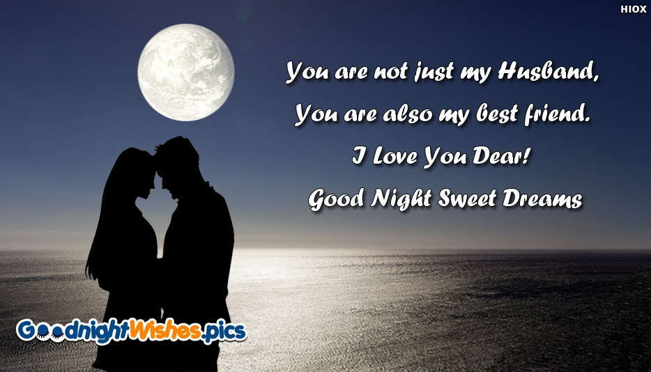 Love Quotes Wallpaper For Husband : good night husband wallpaper