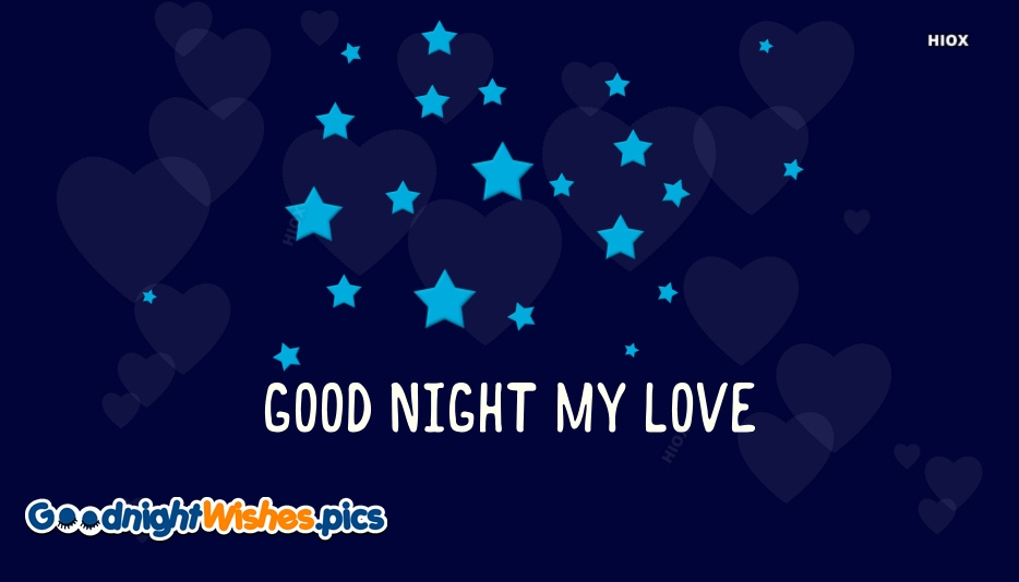 Good Night My Love Gif