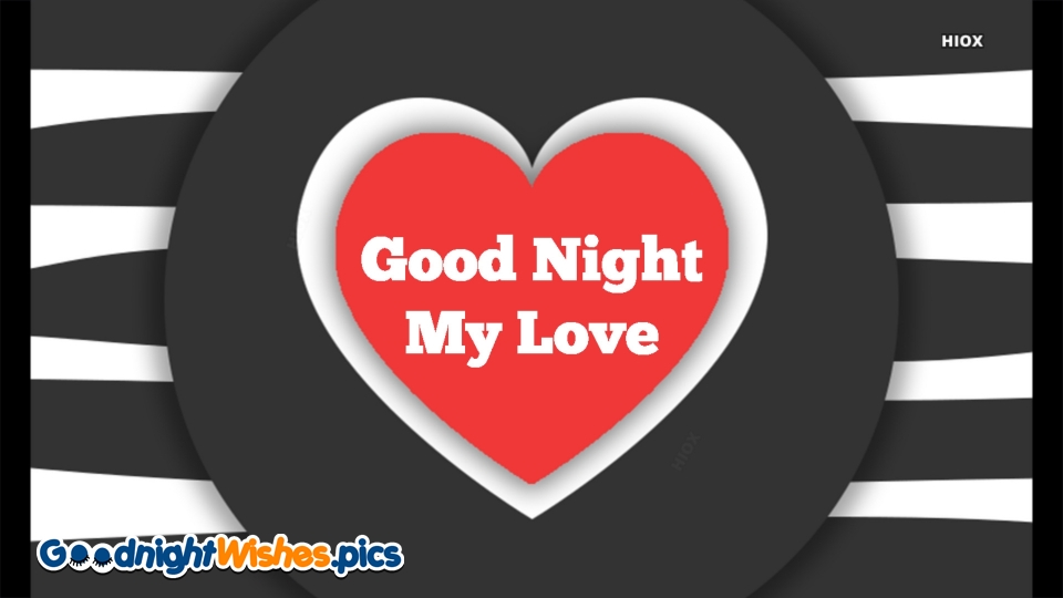 Good Night My Love Greetings