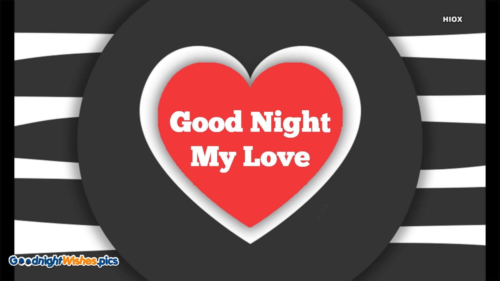 Good Night My Love Greetings