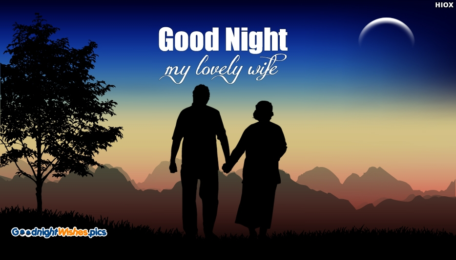 Good Night My Lovely Wife - Good Night Wishes for Life Partner