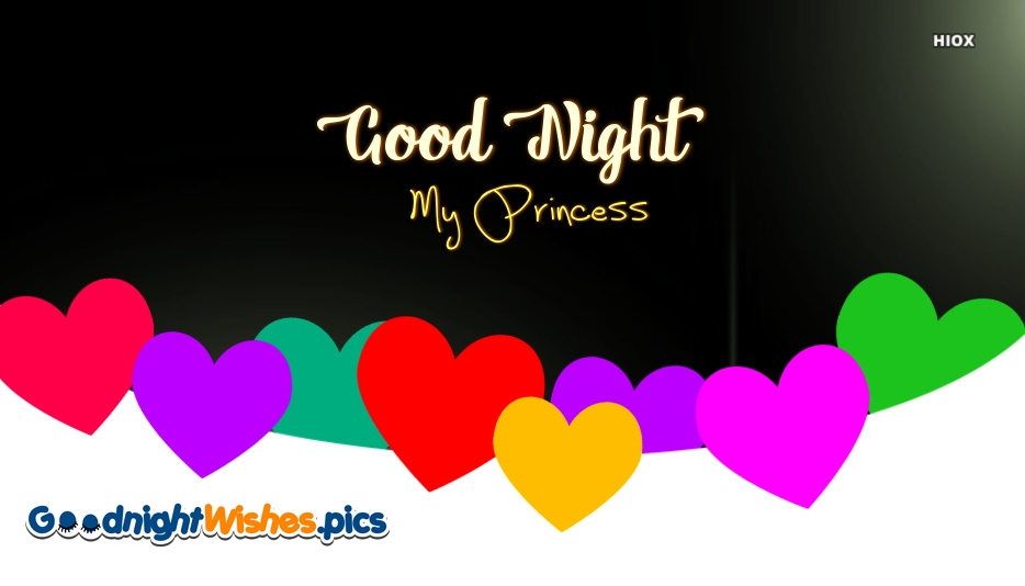 Good Night Princess Images, Pictures