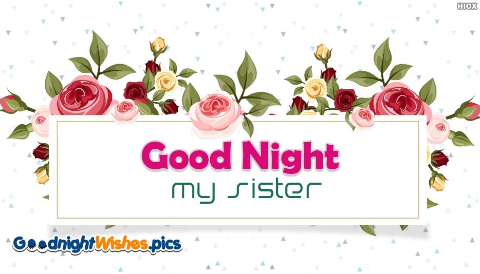 Good Night My Sister