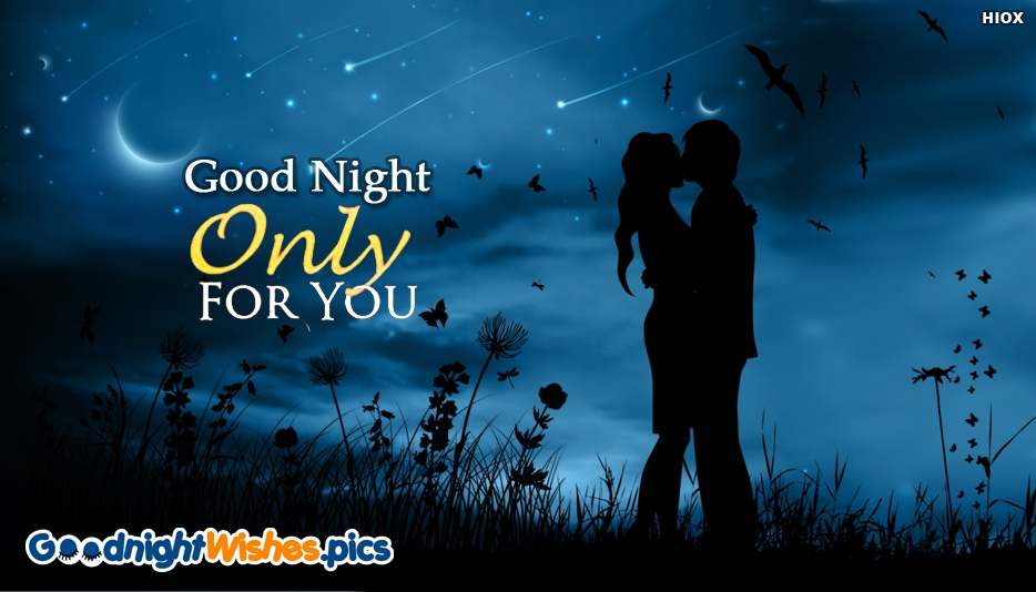 Good Night Only For You Message