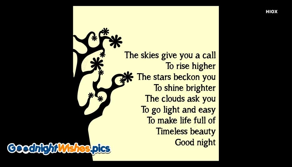 Good Night Poems