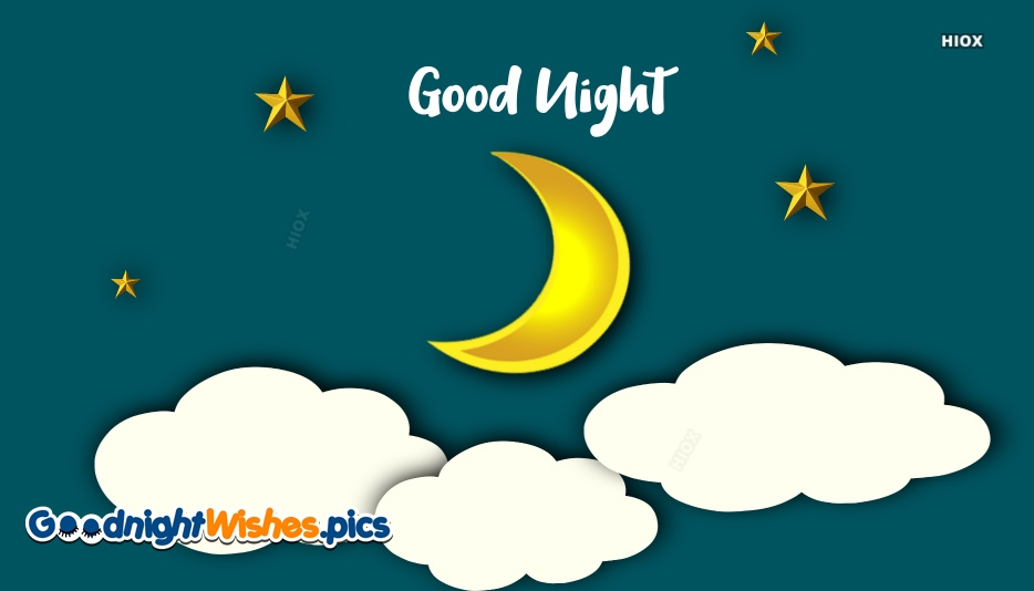 Good Night Rest Wishes