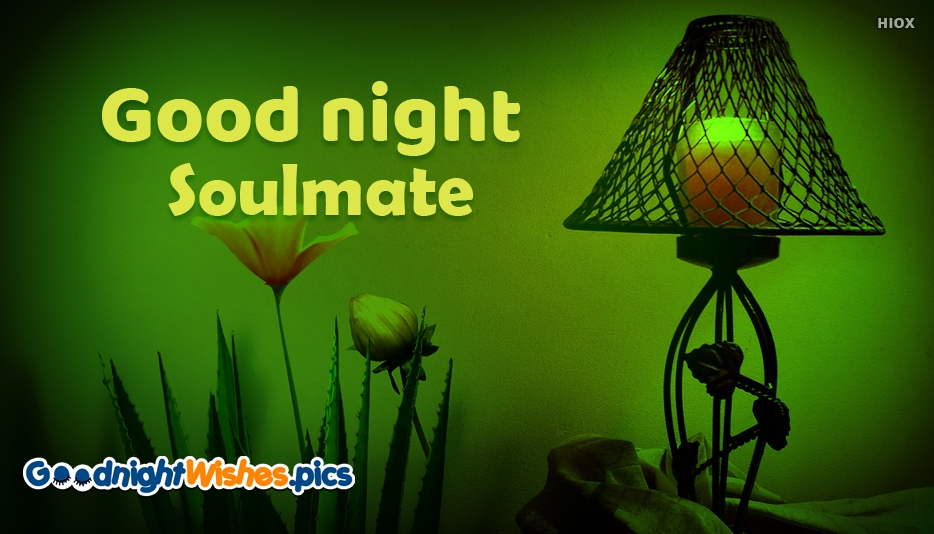 Good Night Wishes for Soulmate