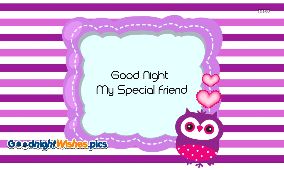 Good Night Wishes for True Friend